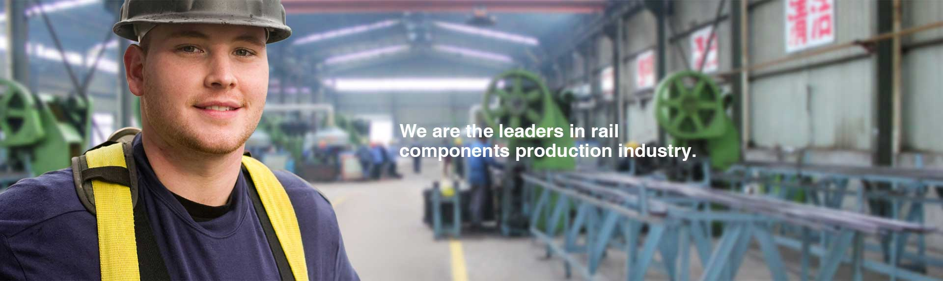 leading manufacturer of rail components