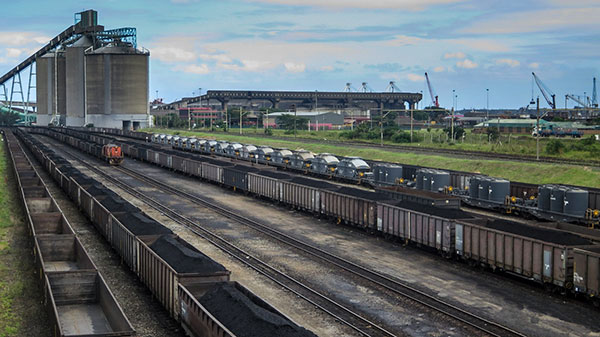 coal transportation in south africa