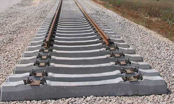 concrete rail sleepers