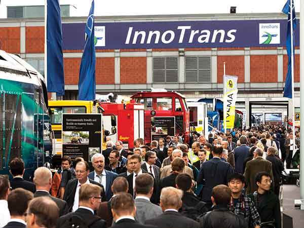 crowds in innotrans 2014