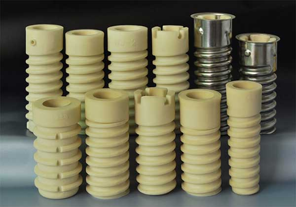different types of rail plastic dowels