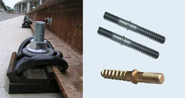 double head screw spike