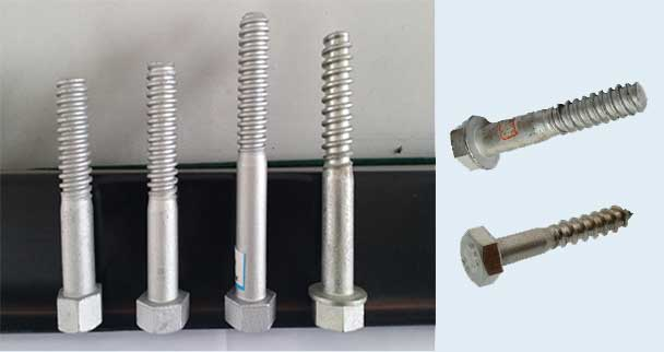 hexagon screw spikes