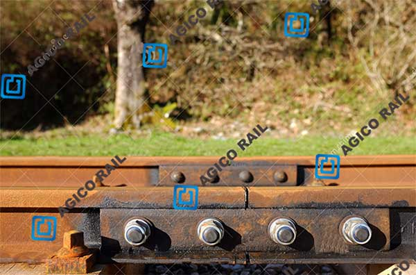 rail joint in railway