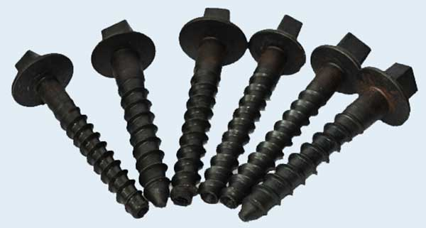 square head screw spikes