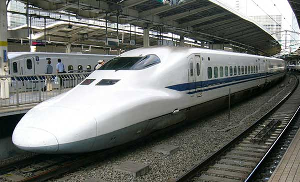 high speed trains in japan