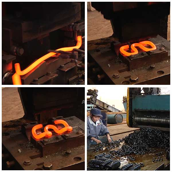 product process of elastic rail clips